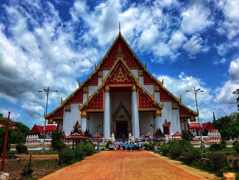 Ayutthaya Wihan Phra Mongkhon Bophit