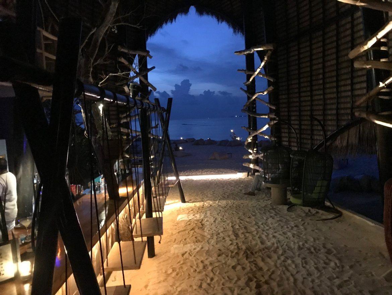 Haali Sunset Bar Dhigali Maldivas