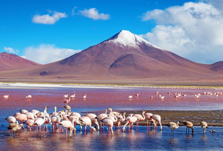 Viajar a Bolivia. Lagunas de colores