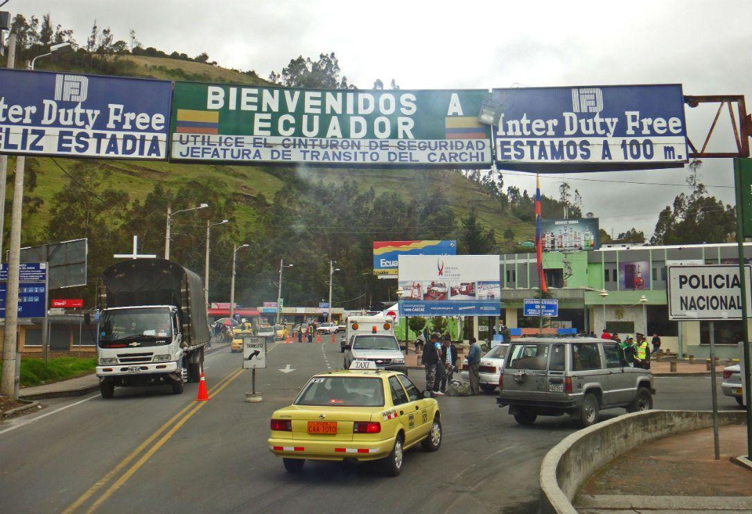 Viajar a Guayaquil. frontera