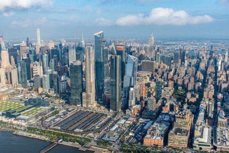 Viajar a Hudson Yards. Panorámica