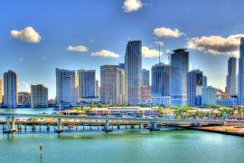 Viajar a Miami. Skyline