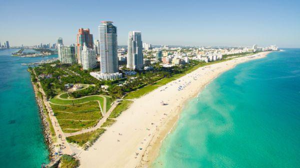 Viajar a Miami. South Pointe Park