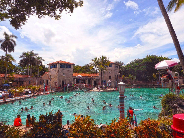 Viajar a Miami. Venetian Pool