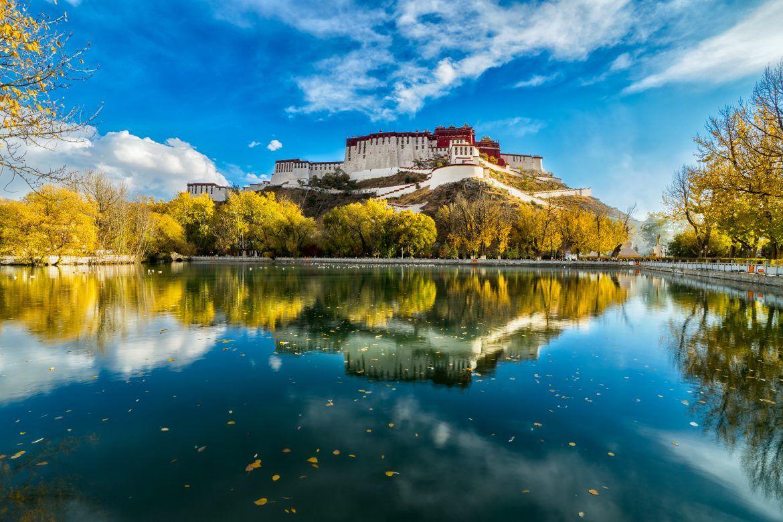 Palacio de Potala en Tibet