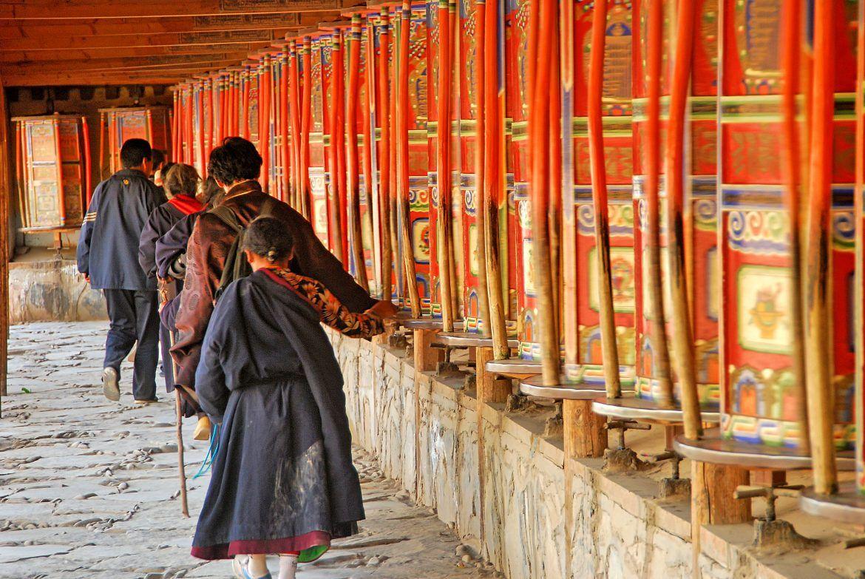 Templo en Tibet