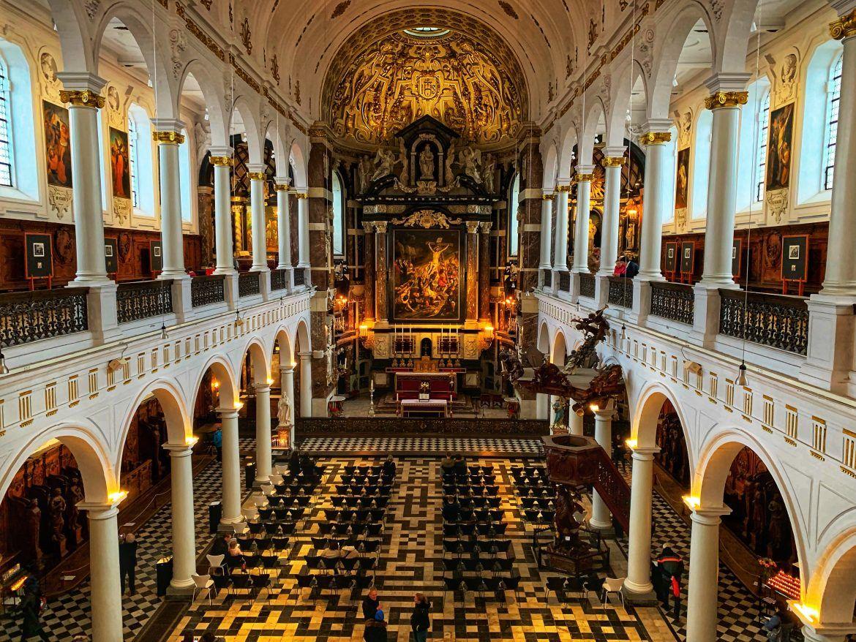 viajar amberes. Iglesia Carlos Borromeo