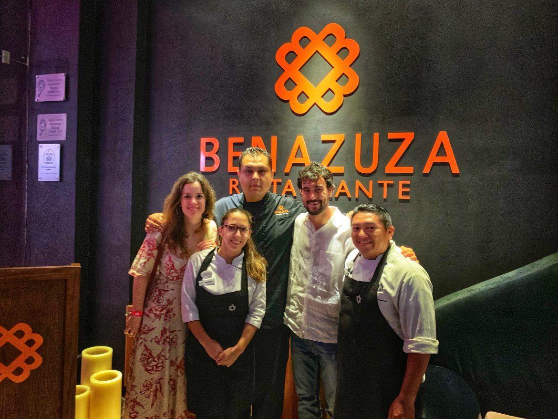 visita Benazuza equipo