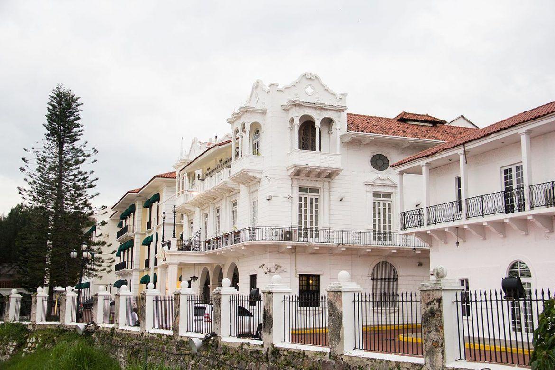 visitas en ciudad de panama. palacio de las garzas
