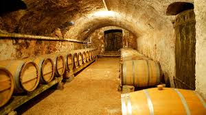 Blick in den Keller der Finch-Destille