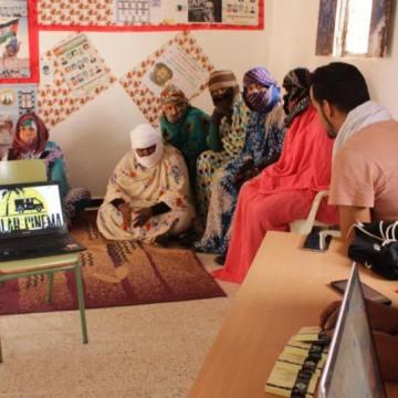 Campamentos de refugiados saharauis: Intensa actividad en la Escuela de cine – septiembre 2018