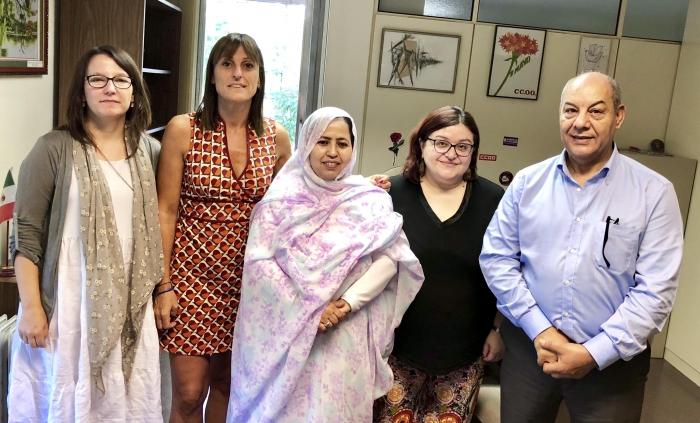 "CCOO: ""Nuestro apoyo a la lucha saharaui es total"". | Sahara Press Service"