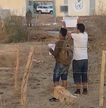 Protestas no violentas de jóvenes saharauis en Smara — POR UN SAHARA LIBRE .org