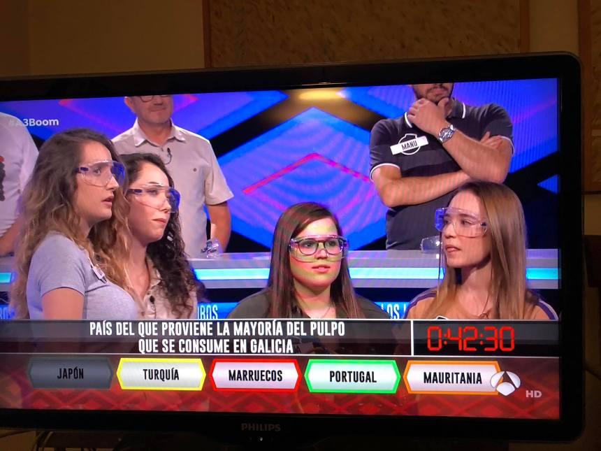 Antena3 miente en su programa del Boom ese. Marruecos no es el país del que proviene el pulpo que «se consume en Galicia». ¡Es el Sahara Occidental!
