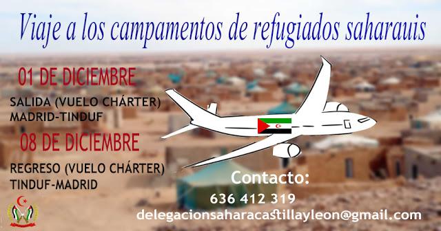 Viaje solidario con los saharauis. — El Confidencial Saharaui