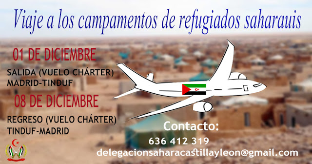Viaje solidario con los saharauis — Liga de Estudiantes y Jóvenes Saharauis en el Estado Español