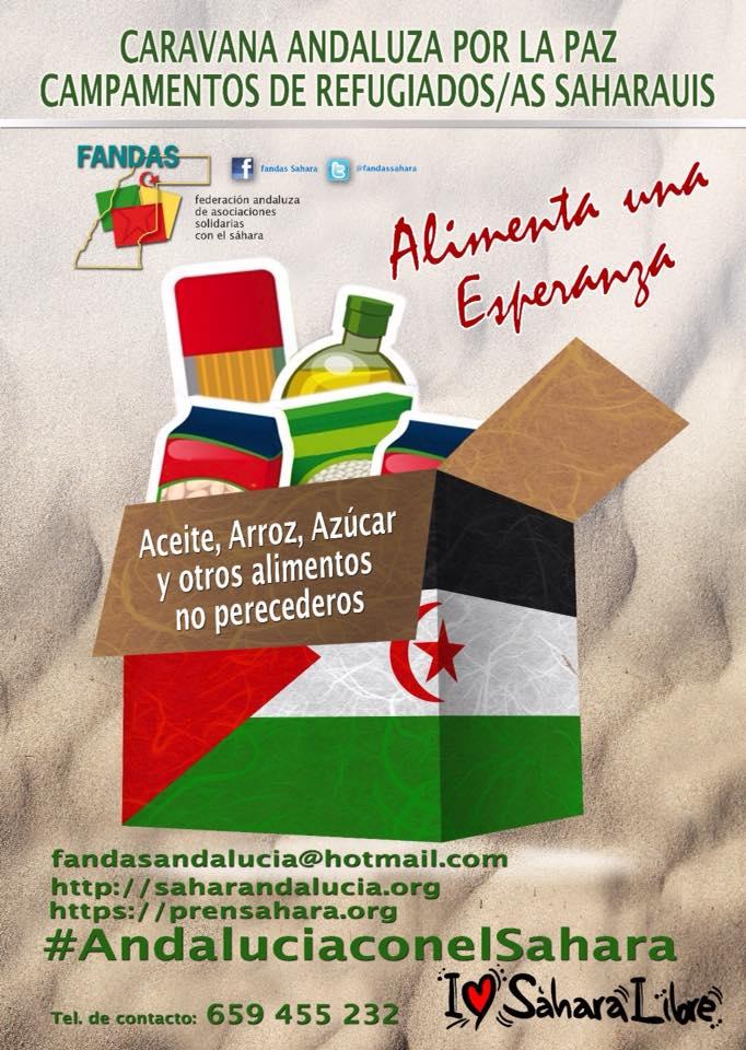 Caravana por la Paz 2019 – Asociación Granadina de Amistad con la República Árabe Saharaui Democrática