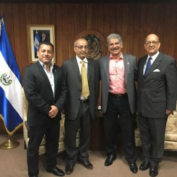 El Presidente de la Asamblea Legislativa de El Salvador recibe a Delegación Saharaui | Sahara Press Service