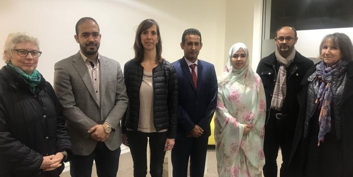 Une députée du LREM reçoit la délégation sahraouie participant au Festival international de la solidarité   Sahara Press Service