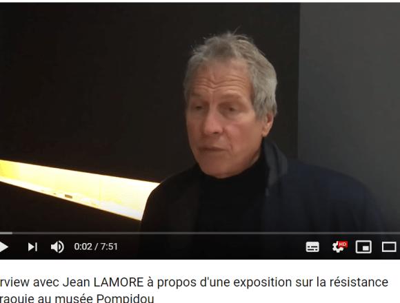 Lettre ouverte à Serge Lasvignes, Président du Centre Pompidou, par Jean Lamore — Solidarité Maroc التضامن المغرب