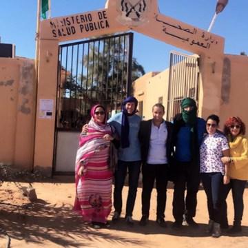 Cuatro profesionales del Hospital de Osuna ayudan sobre el terreno al pueblo saharaui – Sevilla Solidaria