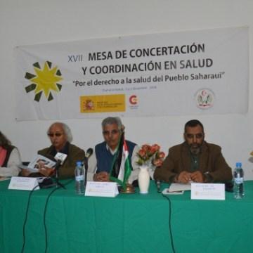 Comienzan los trabajos de la XVII Mesa de Concertación y Coordinación en Salud de la RASD | Sahara Press Service