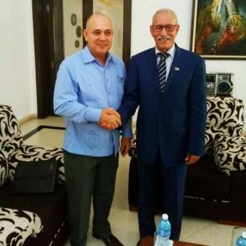 Presidente de la República, Brahim Ghali recibe a Vicepresidente cubano   Sahara Press Service