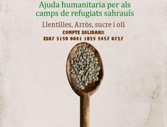 FASPS-País Valencià: La Caravana por la Paz, es un proyecto que se lleva a cabo en todo el Estado Español para la recolecta de comida no perecedera para los Campamentos de Población Refugiada Saharaui. ¿Te animas a colaborar?