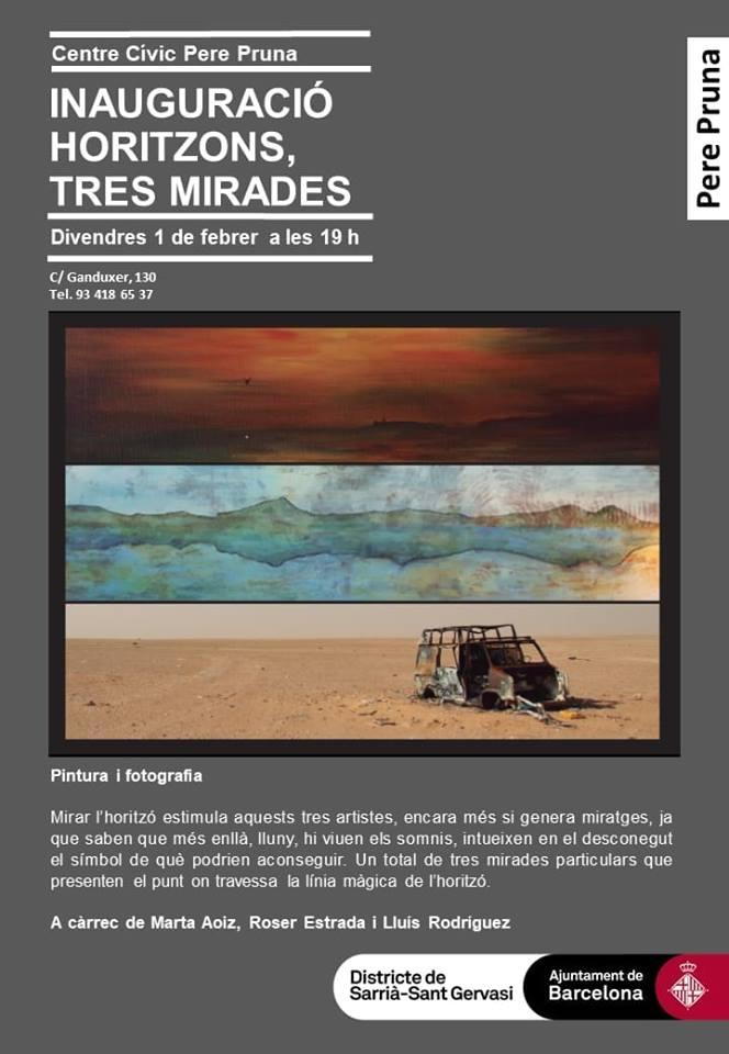 El Sahara Occidental, muy presente en la exposición 'Horizontes, tres miradas' | El Sahara Occidental
