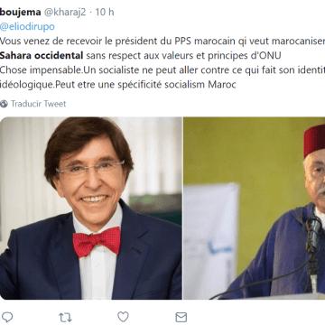 Le Matin – Le secrétaire général du PPS rencontre le président du Parti socialiste belge