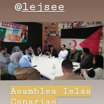Asamblea regional en Gran Canarias – Liga de Estudiantes y Jóvenes Saharauis en el Estado Español