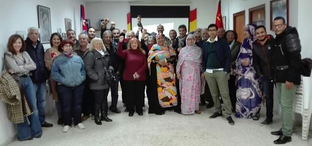 Asociación de Cubanos Residentes en Andalucía «Tocororo»: Cubanos y saharauis comparten proyección del documental «Diáspora en el Sáhara»