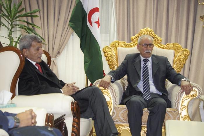El Presidente de la República llega a la capital etíope para participar en la Cumbre de Jefes de Estado y de Gobierno de la UA | Sahara Press Service