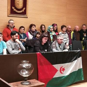 Berriozar: acto de solidaridad y apoyo a los expulsados del Sahara Occidental por las fuerzas de ocupación marroquís