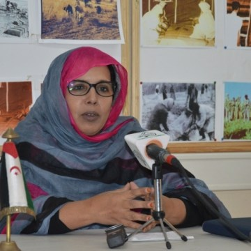 Fatima El Mehdi assures VIII UNMS will be a platform to inform foreign participants on Saharawi State experience in various fields | Sahara Press Service