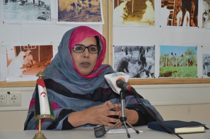Fátima El Mehdi asegura que el VIII de la UNMS será una plataforma para informar a los participantes extranjeros sobre la experiencia del Estado saharaui en varios campos   Sahara Press Service