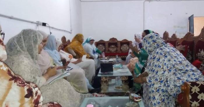 UNMS   UNIÓN NACIONAL DE MUJERES SAHARAUIS.: Primera reunión de la nueva ejecutiva de la Unión Nacional de Mujeres saharauis