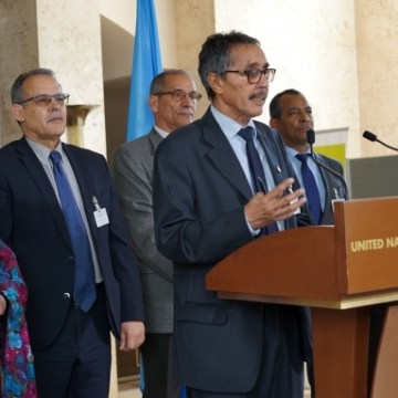 Pas de solution durable «sans l'accord» du peuple du Sahara occidental (Khatri Addouh) | Sahara Press Service