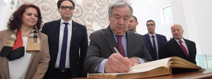 Sahara occidental : le Secrétaire général de l'ONU Antonio Guterres pousse au référendum d'autodétermination