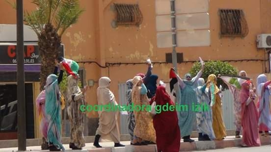 Moroccan forces use violence against Sahrawi demonstrators in occupied capital | Sahara Press Service