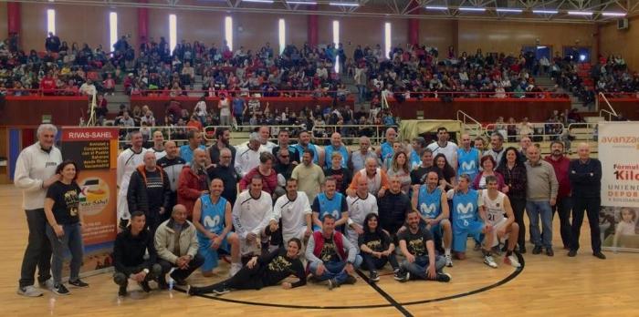 Real Madrid y Movistar Estudiantes (veteranos) se miden en la cancha para apoyar al pueblo saharaui | Sahara Press Service