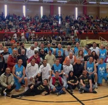 Real Madrid y Movistar Estudiantes (veteranos) se miden en la cancha para apoyar al pueblo saharaui   Sahara Press Service