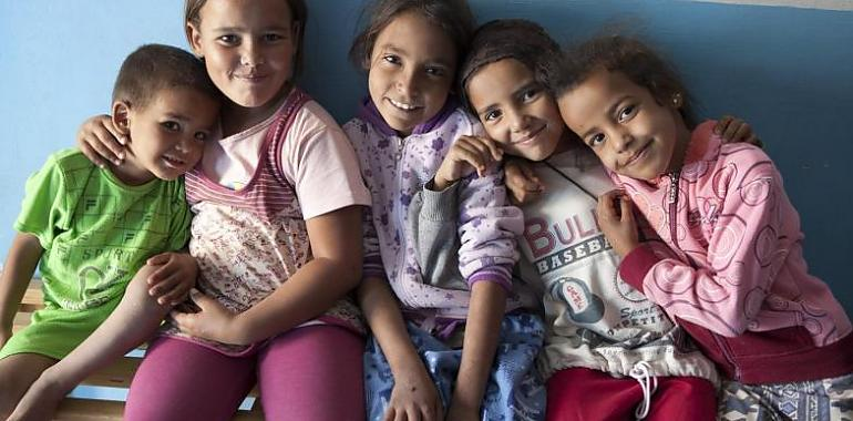 Con los niños saharauis, siempre. Asturias Mundial