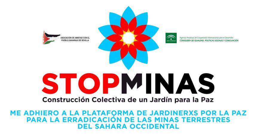 ¿Aún no has firmado en la campaña «STOP MINAS: Construcción colectiva de un Jardín para la Paz»? ¡Firma YA!