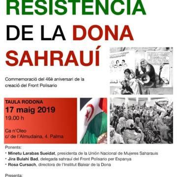 """Mesa Redonda """"La resistencia de la Mujer Saharauí"""" – CEAS-Sahara"""