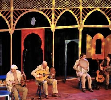 Concierto de música magrebí en el Circo de Marte en favor de los Amigos del Pueblo Saharaui