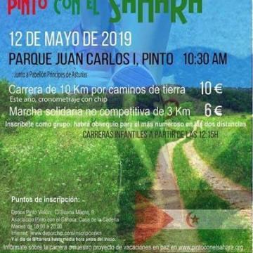 Corre en Pinto por el Sahara – CEAS-Sahara — FEMAS Madrid con el Sáhara
