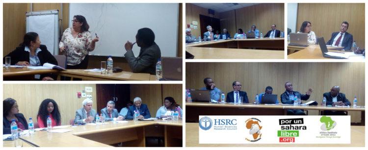 Seminario sobre Política y Derechos Humanos en el Sáhara Occidental, en Pretoria, Sudáfrica | POR UN SAHARA LIBRE .org