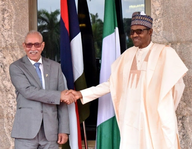 Buhari Restates Nigeria's Support For Sahrawi Republic | Sahara Press Service