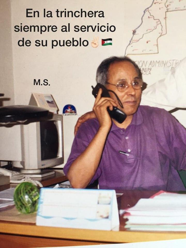 Hoy es un día de luto para la causa saharaui: SIDI-SALEH SIDAHMED TAYEB ha fallecido
